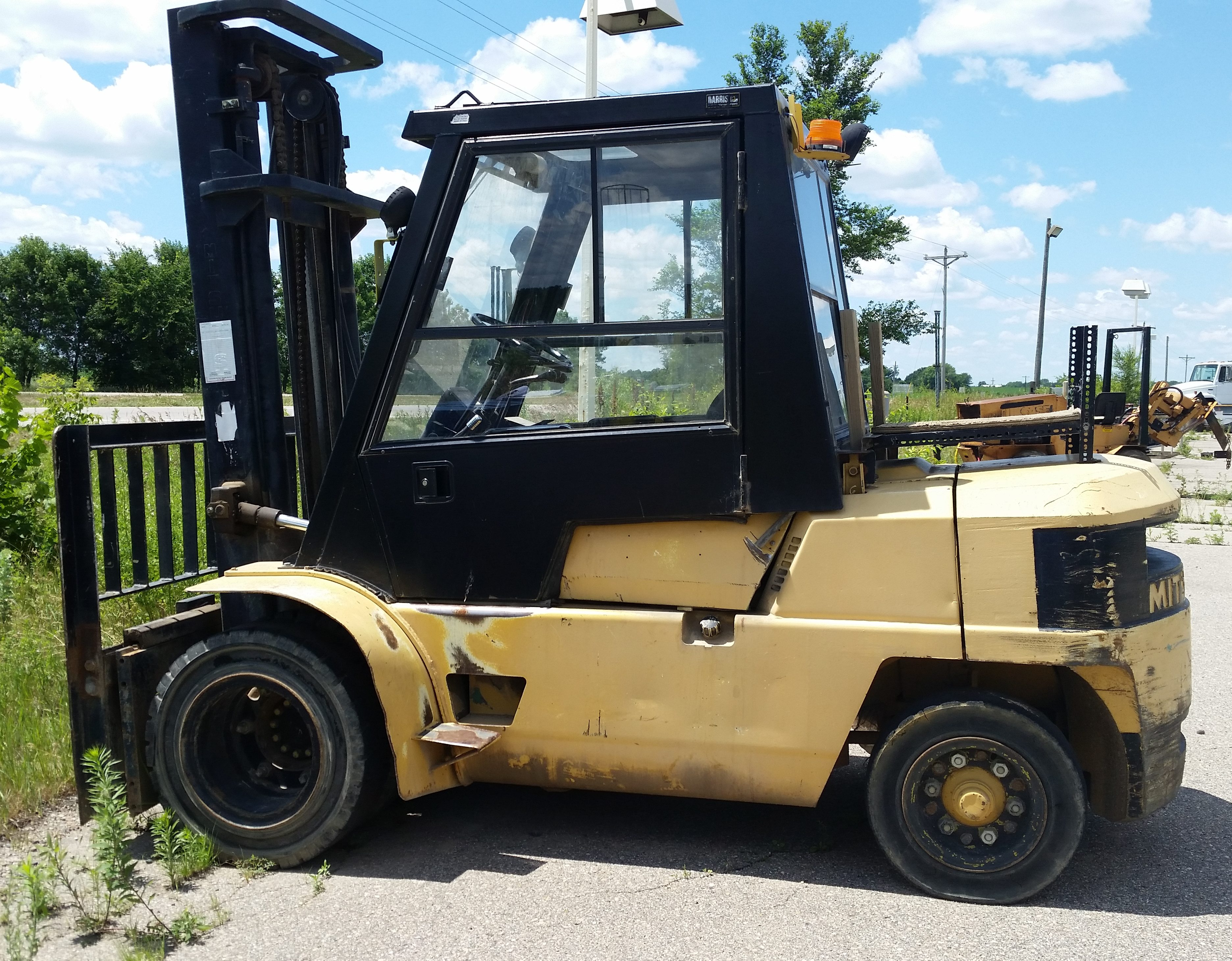 mitsubishi products forklifts fort dallas worth irving