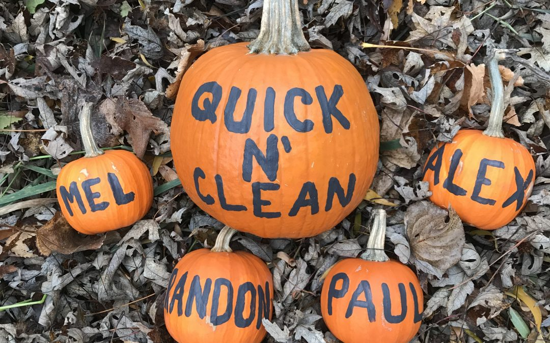 Happy Halloween from Quick N' Clean!
