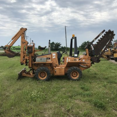 Case 660 Trencher Backhoe
