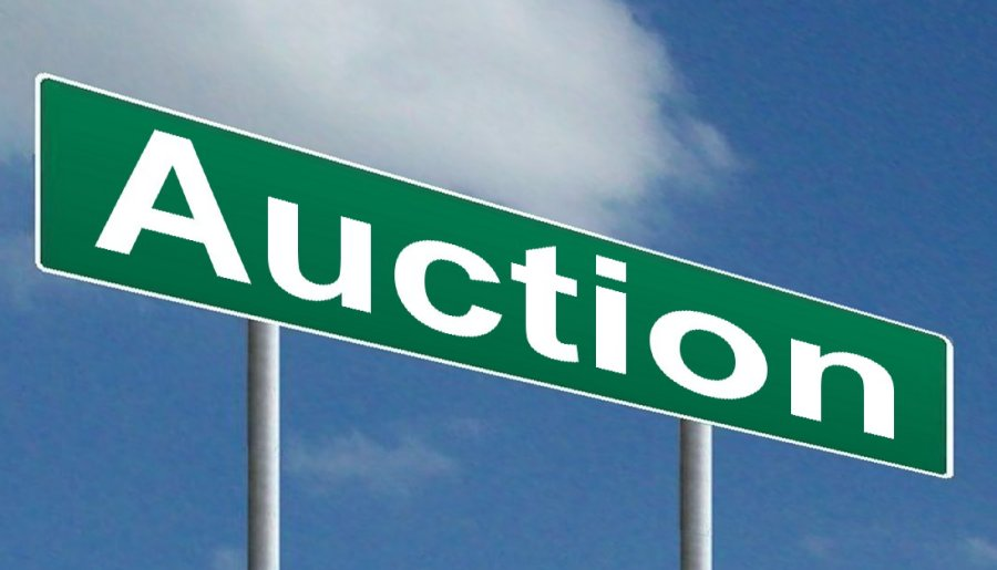 Two online auctions ending on Thursday April 12th, 2018!